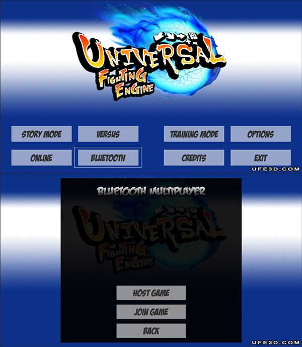 Network Options [Universal Fighting Engine]
